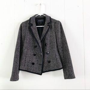 Banana Republic Tweed Wool Blazer
